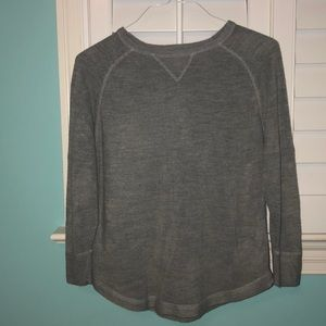 Gray sweater from Sweet Romeo!! Size small